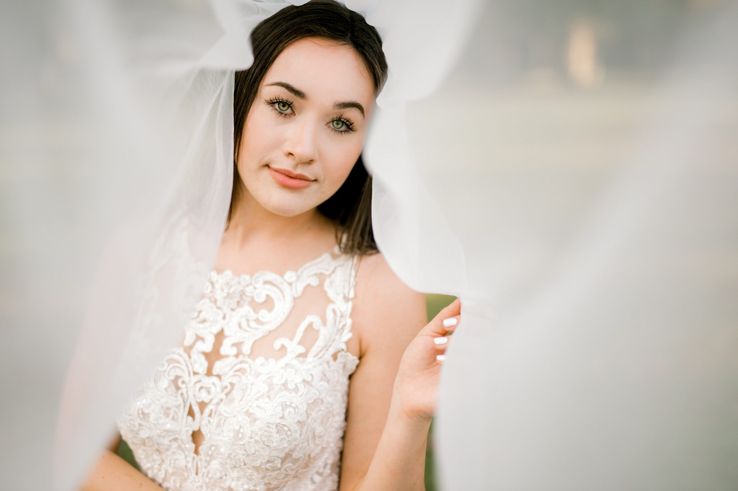 Bridal Gowns with Veil